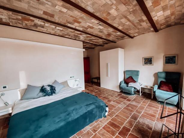 Camera matrimoniale villa vacanze Tuoro sul Trasimeno