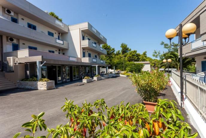 Hotel sul Mare con Spiaggia Privata e Ascensore