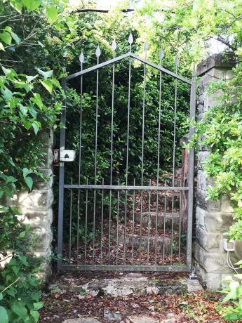 Ingresso Villa Vacanze Benessere ad Arezzo