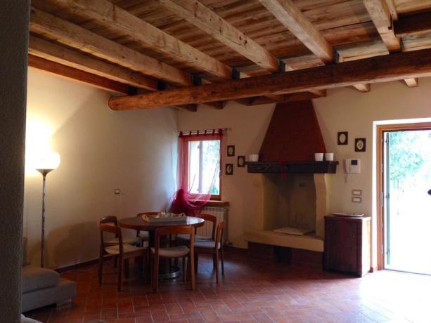 Appartamenti con camino in agriturismo a Verona