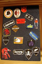 Patch o toppe ricamate per bikers softair
