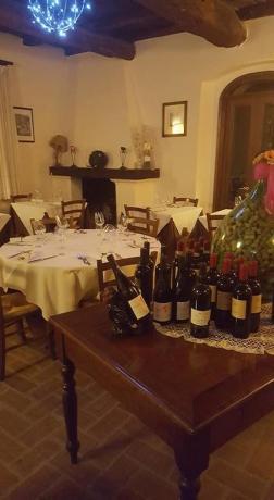 Cena Romanica con vino Residance Piediluco