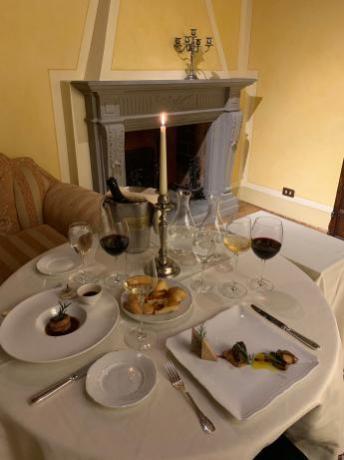Romantiche cene in Suite