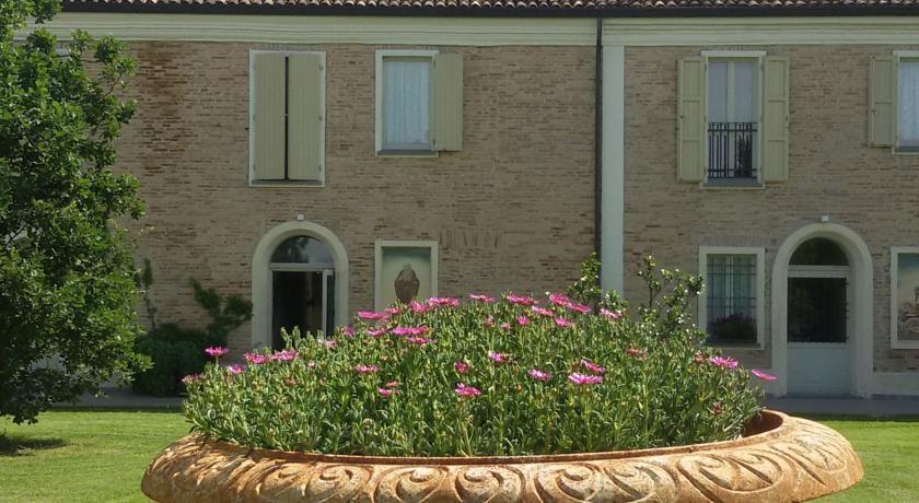 La vista hall dell'albergo 4 stelle Ravenna
