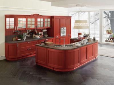 Cucine componibili in umbria cucine classiche e moderne - Cucine classiche con penisola ...