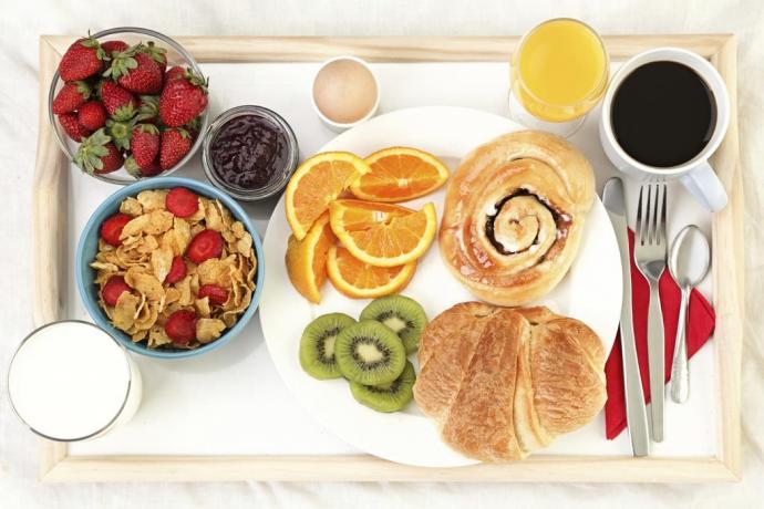 Prima colazione al B&B di Santa Venerina