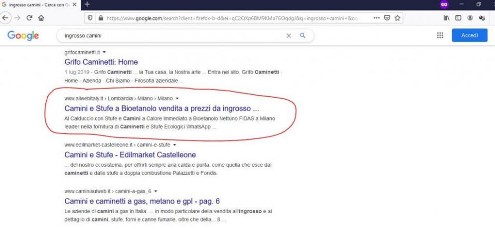 Come Fare Pubblicita Online: Ingrosso-Camini