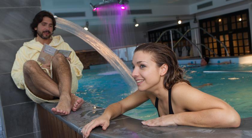 Hotel Bagno di Romagna con Piscina per terapie