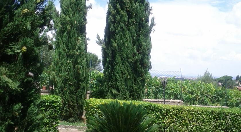Dettaglio esterno Villa a Frascati