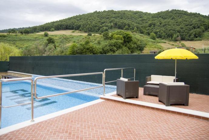 Agriturismo vicino Roma con piscina