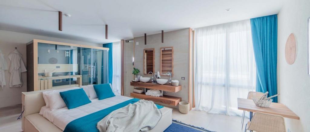 Private Suite hotel4stelle con sauna in camera Baia-Domizia