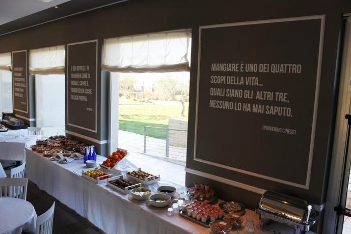 Buffet colazione dolce salata grand-hotel-del-Golfo Manfredonia