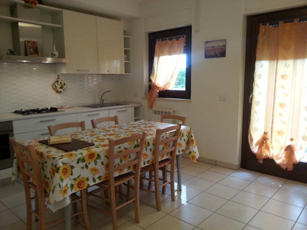 Appartamento in Umbria con piano cottura