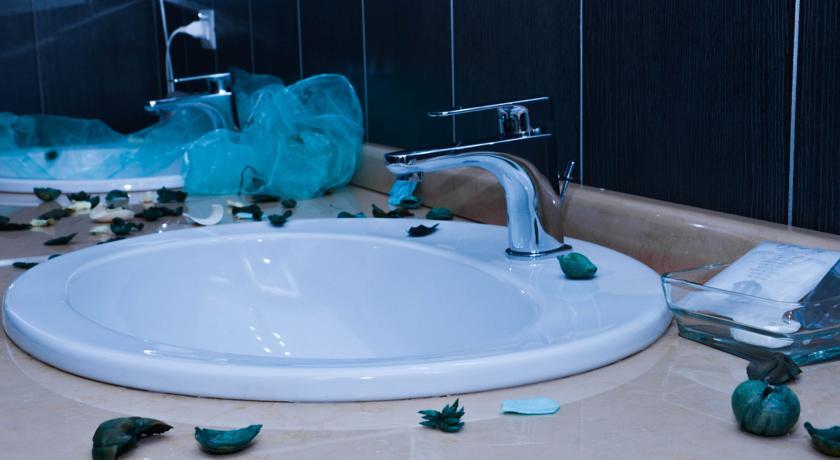 Bagno privato Hotel nel Casertano