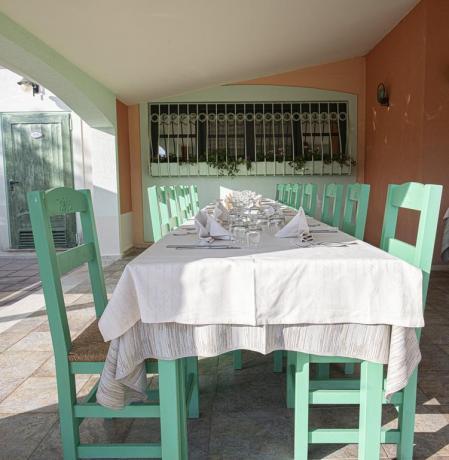 Ristorante aperto per feste private in-Sardegna