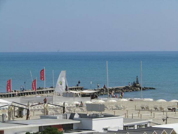 Hotel con piscina e spiaggia vicino Mirabilandia