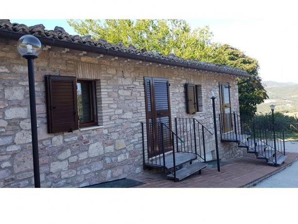 Camere con ingresso privato esterno