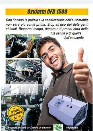Macchina per Ozono per Autolavaggio, Generatore-Ozono per Auto