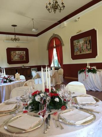 Sala cerimonie in elegante villa storica vicino Gubbio