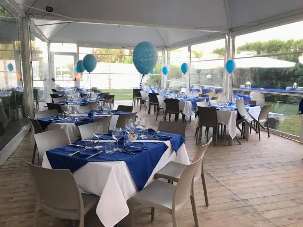 Festa compleanno hotel 3 stelle con piscina Trapani