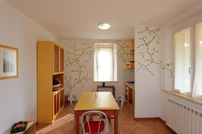 Appartamento vacanza con angolo cottura e veranda attrezzata