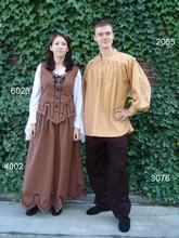 Abiti e costumi storici per uomo e donna