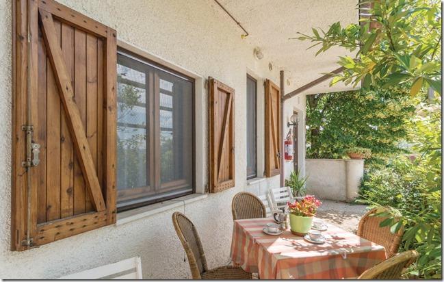 Residenza Podere appartamento-vacanza trilocale veranda Magione
