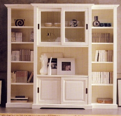 Soggiorni classici e moderni in massello soggiorni legno for Soggiorni bianchi