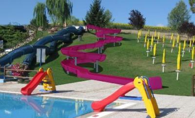 Acquapark Tavernelle Perugia, giochi e scivoli bambini