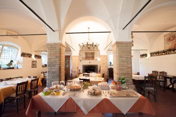 Buffet Colazione: Agriturismo vicino Assisi-Gubbio-Perugia