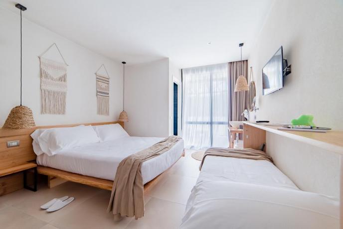 Camera armonia a Baia Domizia in hotel4stelle