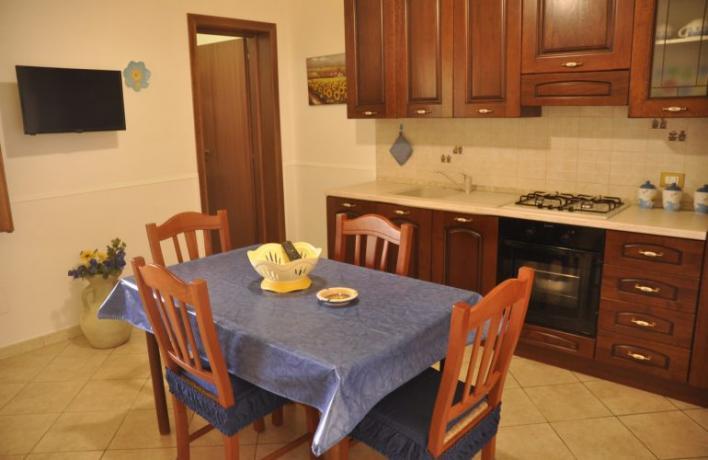 Casa vacanze Relax cucina abitabile San-Vito-lo-Capo