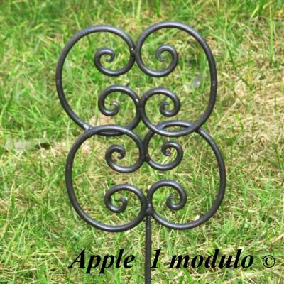 Bordure giardino in ferro battuto vendita bordure per for Svendita arredo giardino