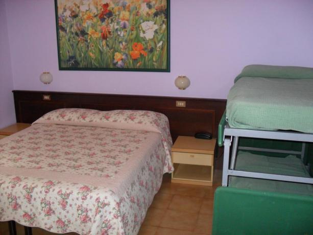 Camere per famiglie Hotel Abetone