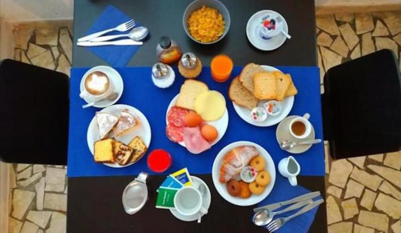 Prima colazione in Hotel sul Golfo di Gaeta