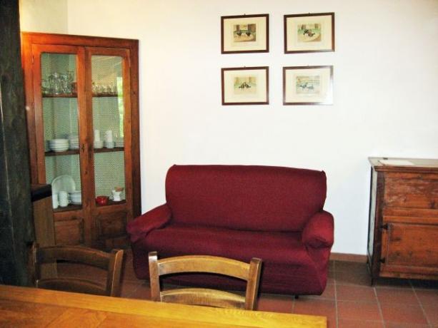Appartamento vacanze Ginepro divano letto Castiglione-del-Lago