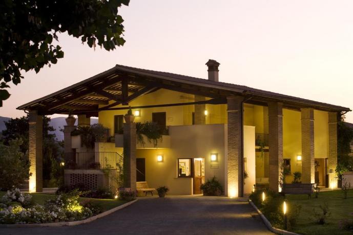 Camere romantiche in Hotel a Spoleto