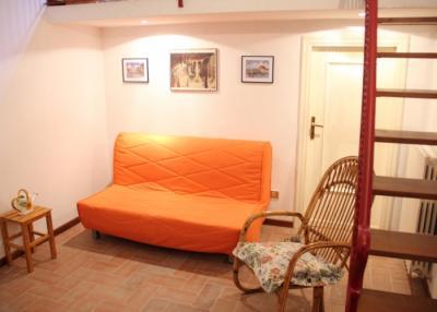Appartamento Moraiolo soppalco con letto