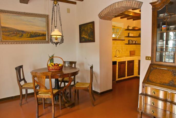 Villa a Cortona con soggiorno + sala pranzo