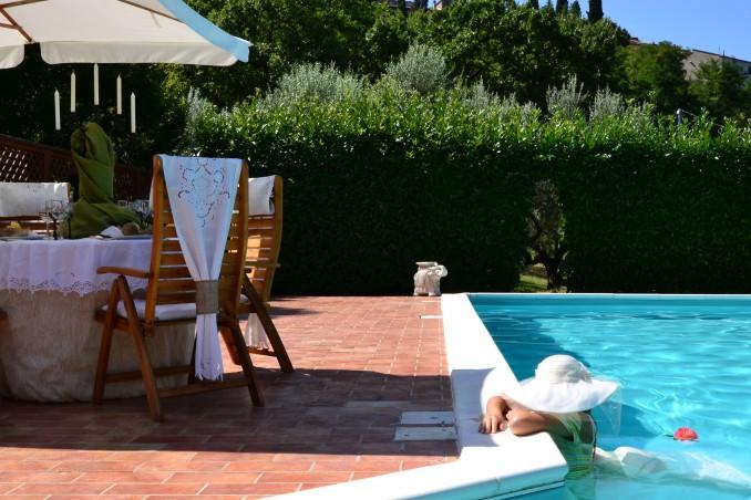 Piscina Casale Montecchio in Umbria