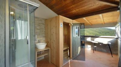 Sauna in agriturismo vicino Gualdo Cattaneo