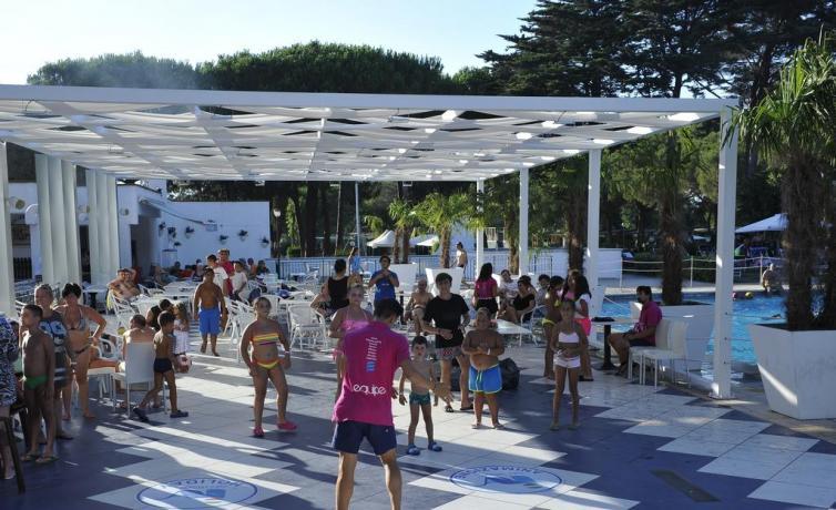 Resort Baia Domizia con animazione bambini