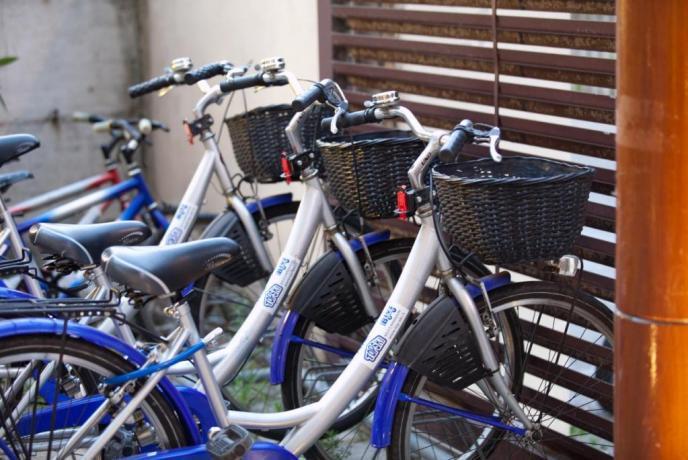 Noleggio biciclette in Hotel a San Benedetto