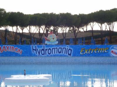 Relaxing Family Holiday, Water Amusement park Hydromania