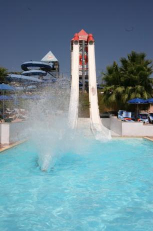The highest waterslides in Italy, hydromania