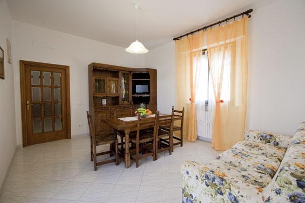Soggiorno appartamento casa vacanze a Cortona