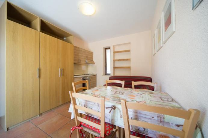Appartamento bilocale-castello M con angolo cottura completo Bardonecchia