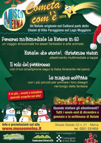 """Al Museo Meina sul Lago Maggiore si vive il Natale con la rassegna """"Cometa… com'è"""""""