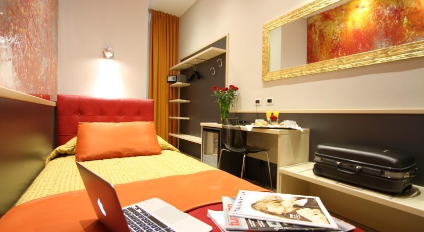Camera singola Hotel L'Artistico a Milano centro