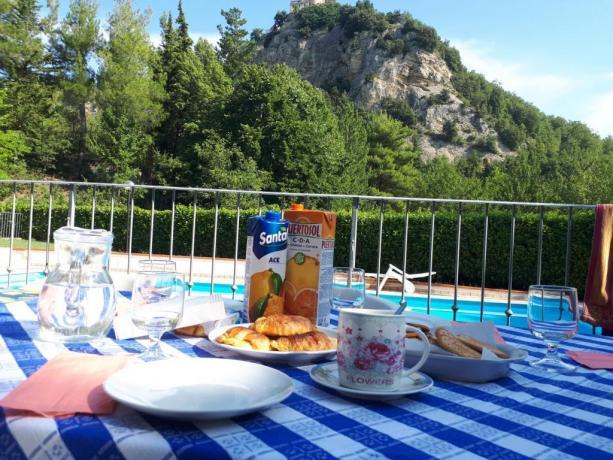 Colazione in Villa B&B vicino Fermo